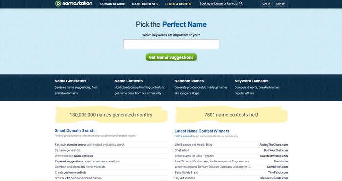 công cụ đặt tên thương hiệu namestation