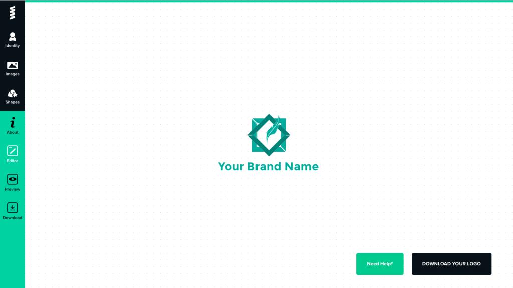 phần mềm thiết kế logo online graphicsprings