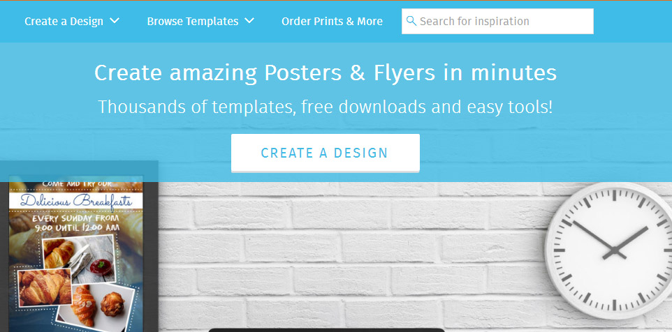 công cụ thiết kế poster postermywall