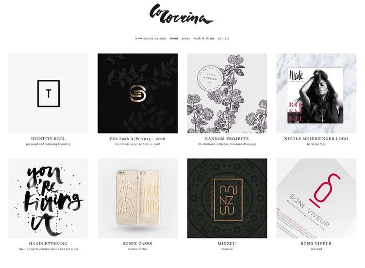 đa dạng phong cách portfolio