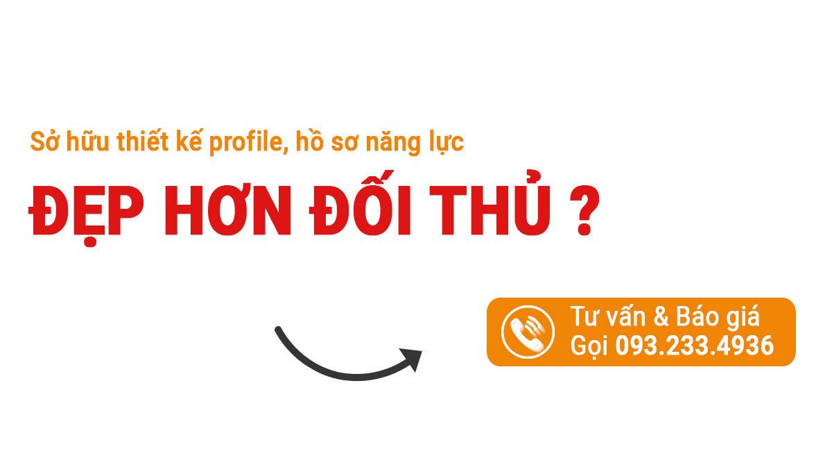 đặt hàng dịch vụ thiết kế profile Uplevo