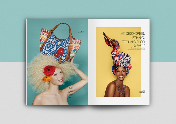 Thiết kế Catalogue của Desigual