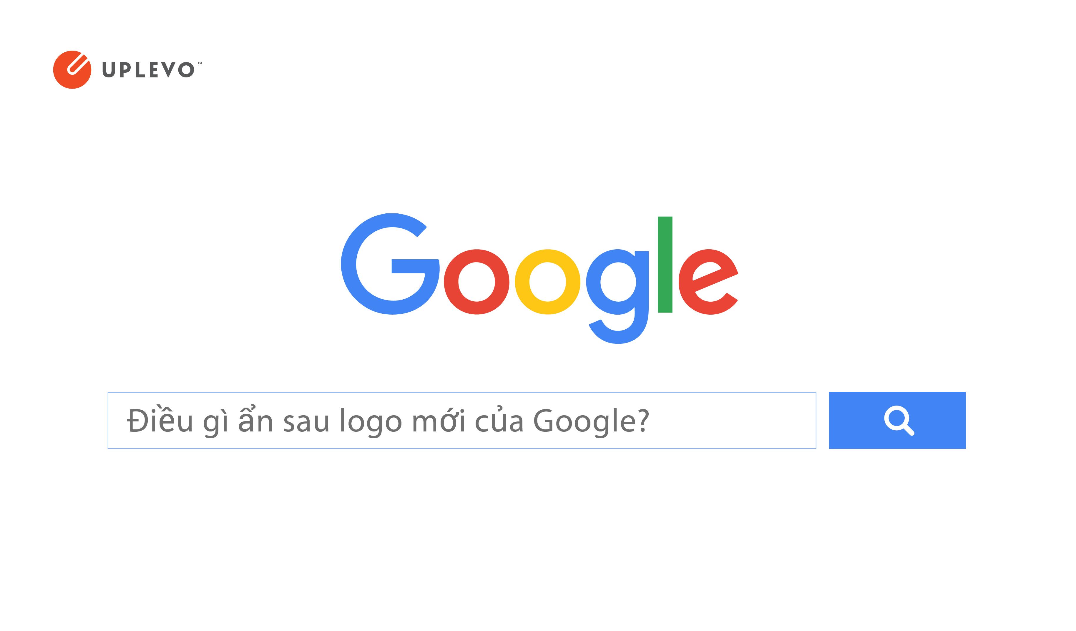 Điều gì ẩn sau logo mới của Google?