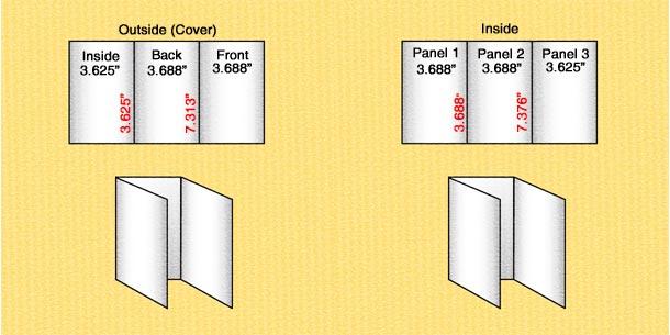 định dạng kích thước in brochure 1