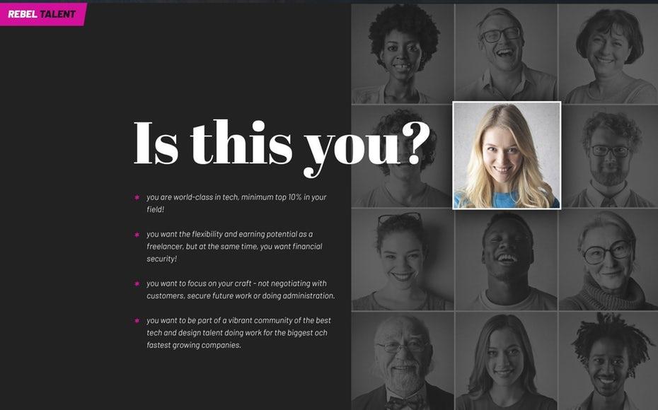đội ngữ nhân sự thiết kế website