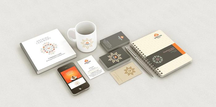 dự án thiết kế logo thương hiệu Uplevo V Presso