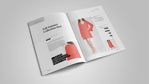 đừng trộn lẫn các typeface khi thiết kế catalogue