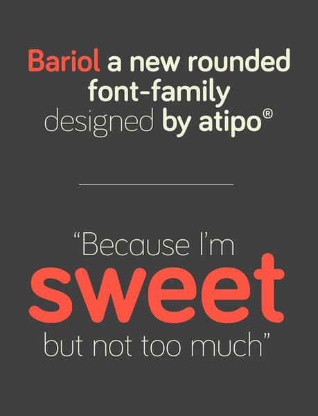 font chữ bariol