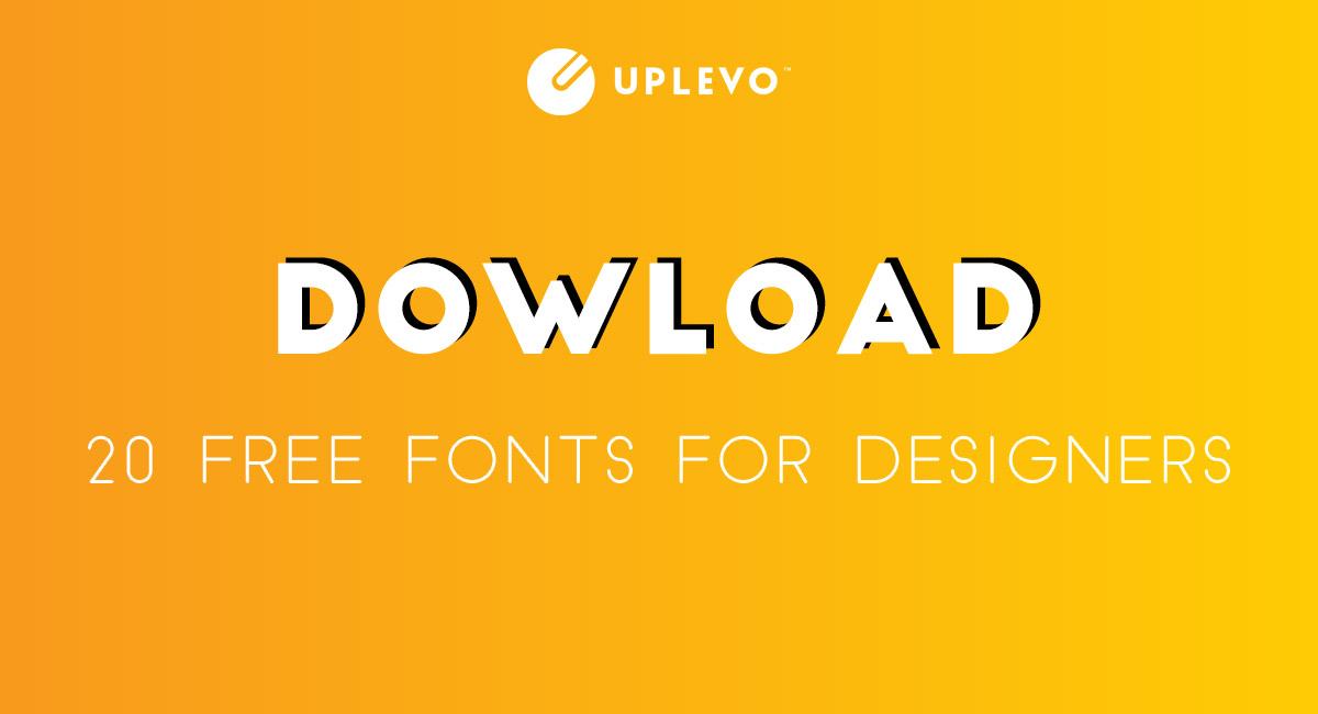 30 Font Chữ, Kiểu Chữ Đẹp, Phông Chữ Miễn Phí Cho Design