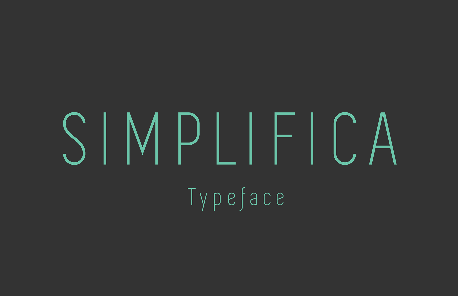 font chữ simplifica