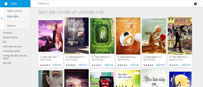 google ebookstore