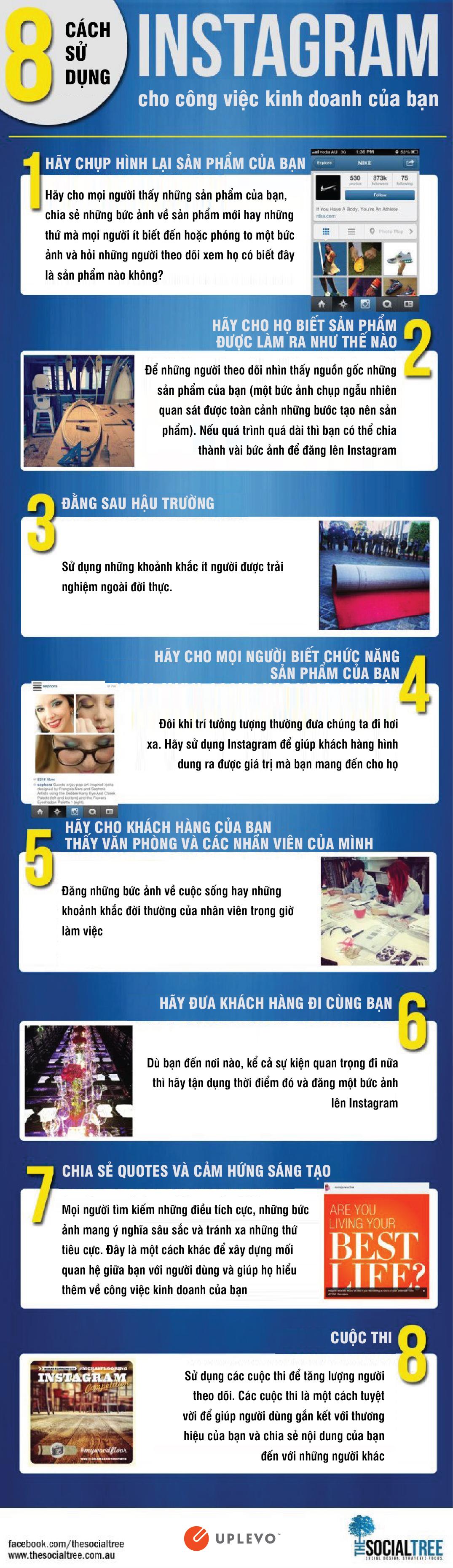 8 cách sử dụng instagram