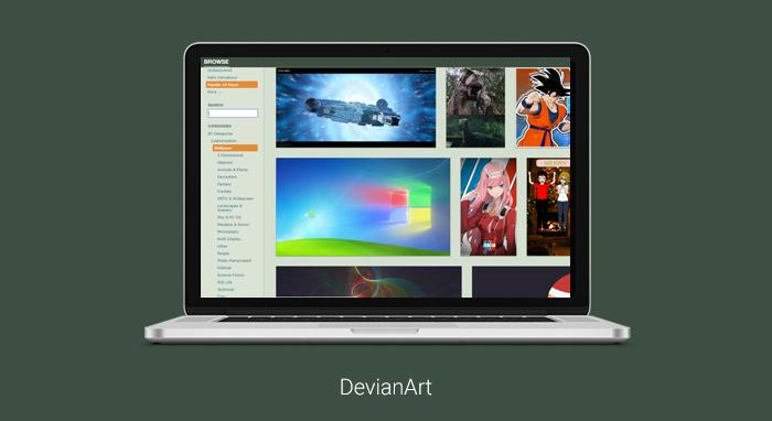 hình nền đẹp máy tính DevianArt Wallpaper