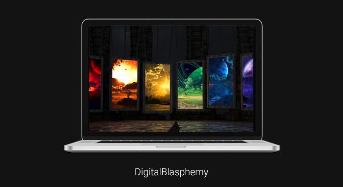 hình nền đẹp máy tính Digital Blasphemy
