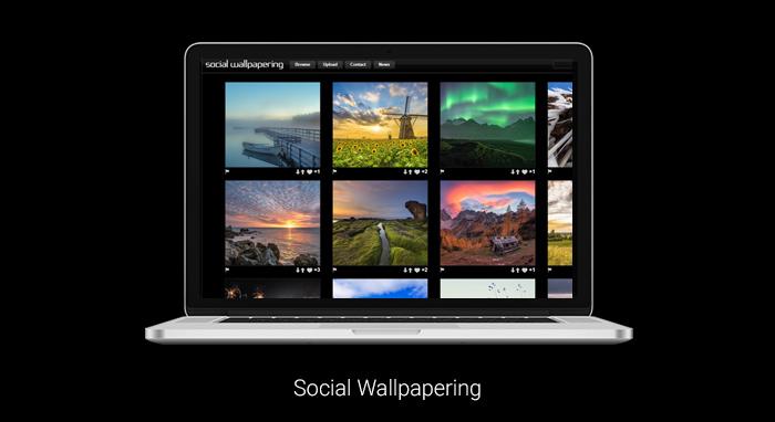 hình nền đẹp máy tính Social Wallpapering