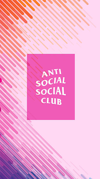 hình nền điện thoại anti social social club