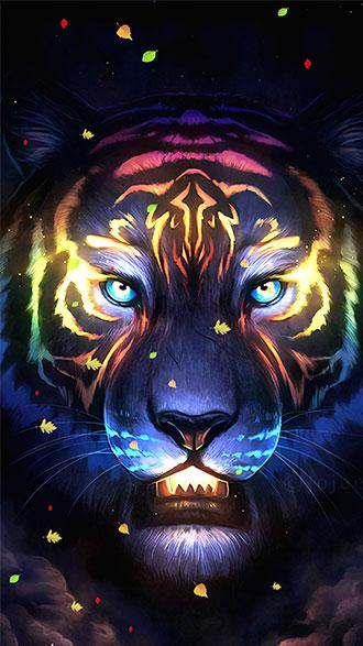 hình nền điện thoại đẹp con hổ