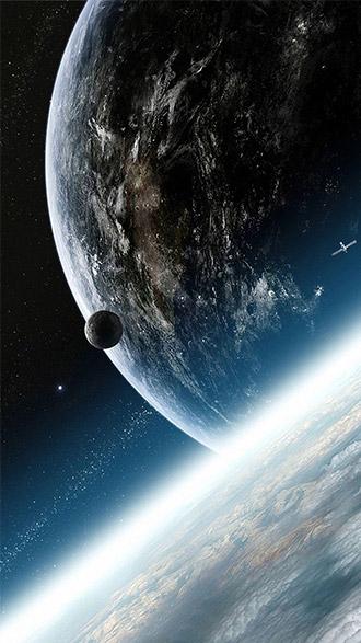 hình nền điện thoại vũ trụ