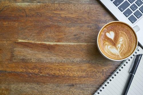 Ảnh nền Powerpoint ly cà phê