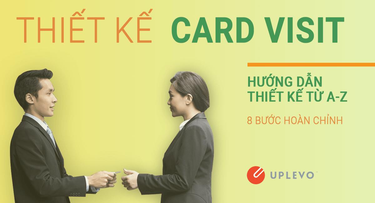 hướng dẫn thiết kế card visit