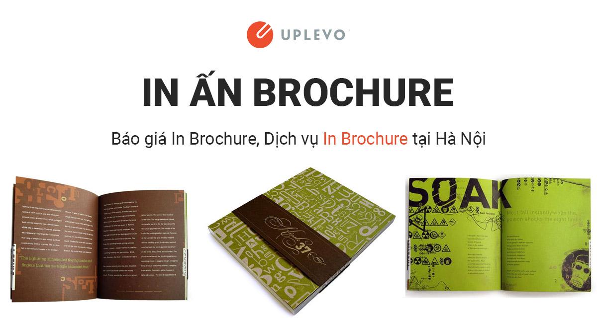In Brochure Cho Công Ty, Doanh Nghiệp – Báo Giá In Brochure