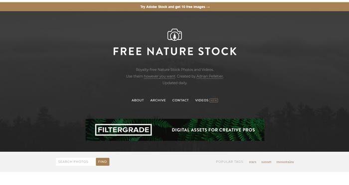 kho ảnh stock free nature stock