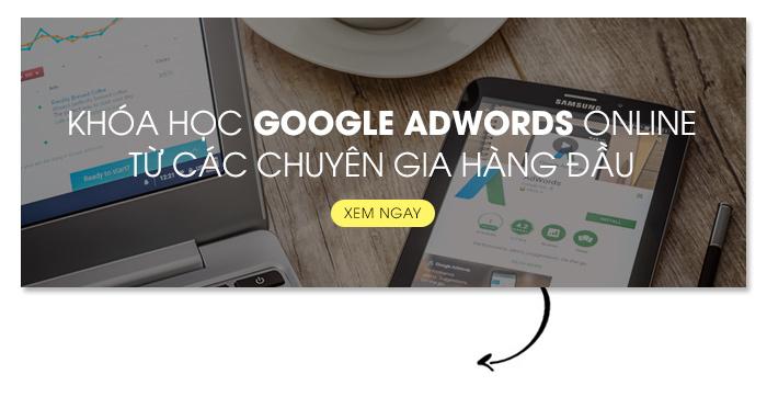 khóa học google adwords onlinne
