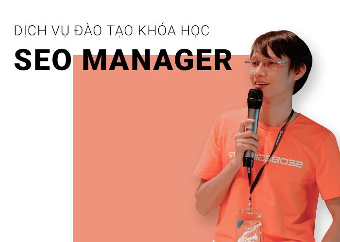 khóa học seo manager