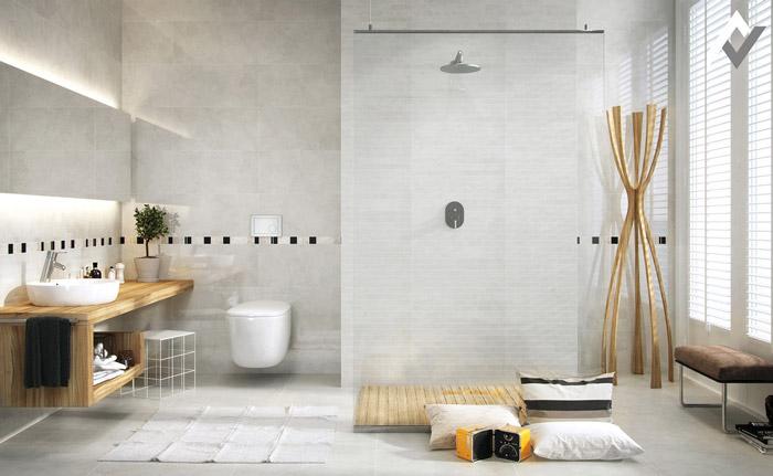 không gian nhà tắm theo trường phái tối giản