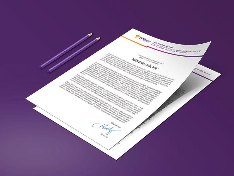 letterhead sales kit
