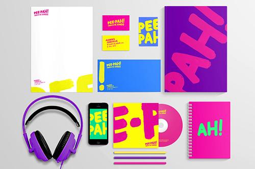 letterhead sáng tạo