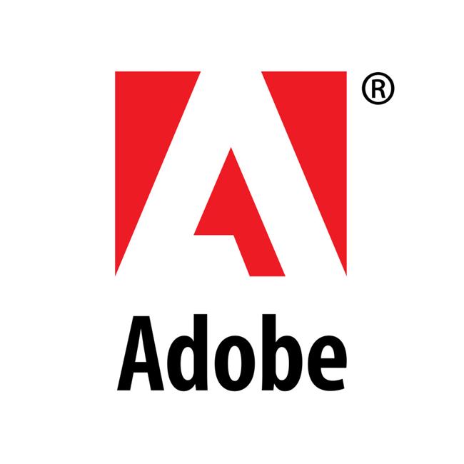 logo chữ a adobe