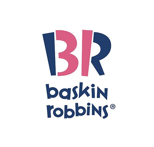 logo chữ b baskin robbins
