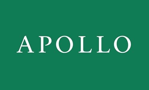 logo chữ có chân Apollo