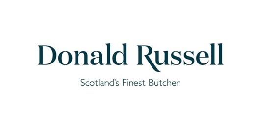 logo chữ có chân Donald Russell