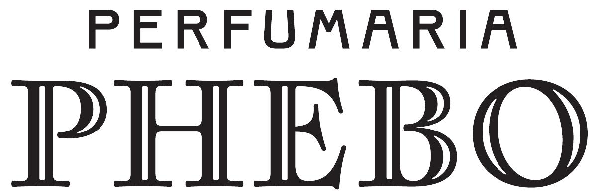 logo chữ có chân perfumaria phebo