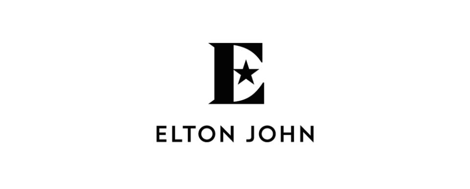 logo chữ e elton john