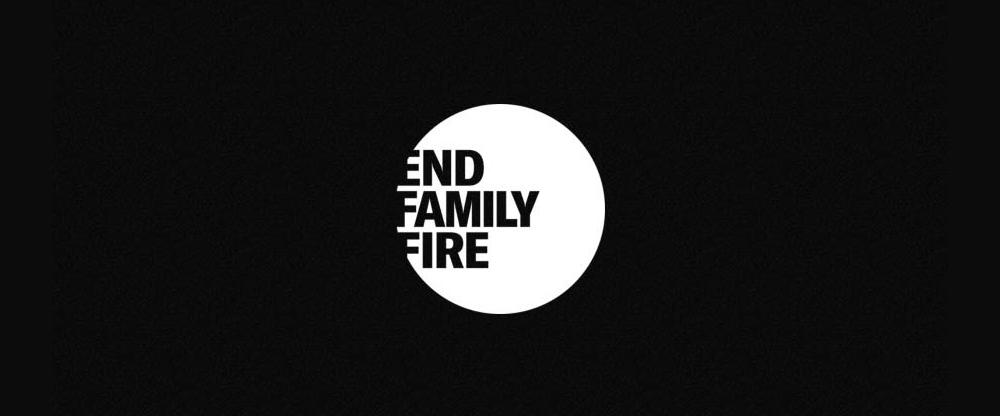 logo chữ e end family fire