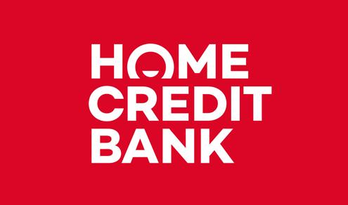 mẫu logo chữ h home credit bank