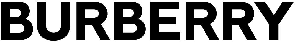 logo chữ không chân burberry