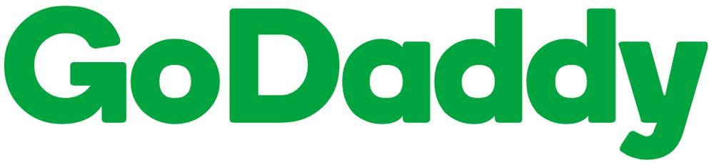 logo chữ không chân godaddy