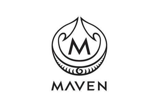 logo chữ m maven