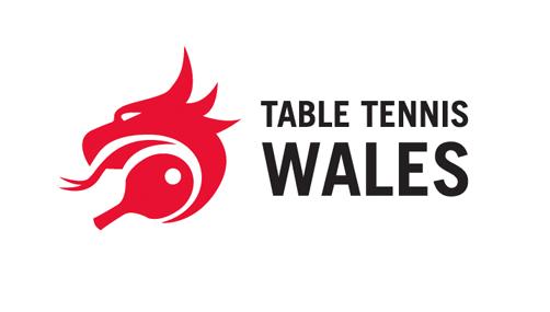 logo chữ t table tennis wales