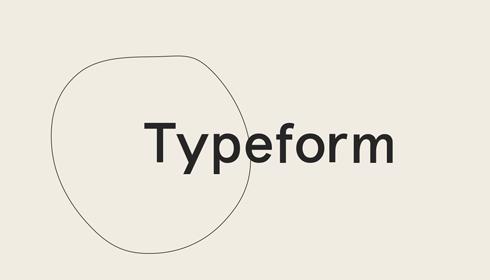 logo chữ t typeform