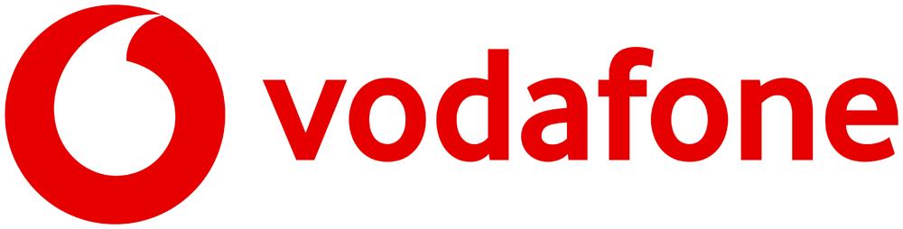 logo chữ v vodafone