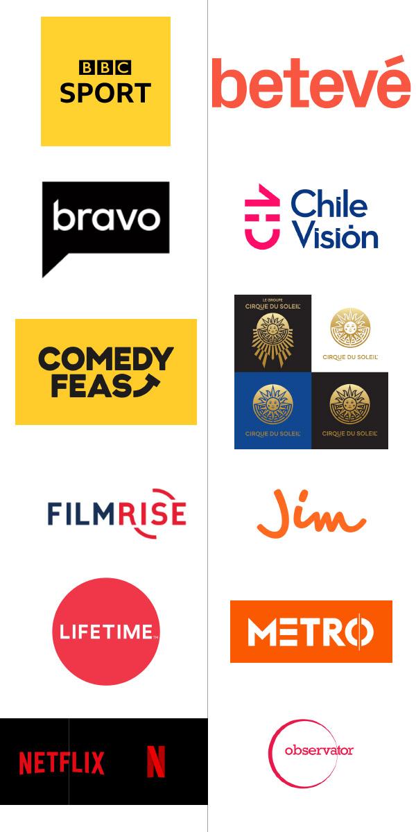 logo đẹp ngành giải trí