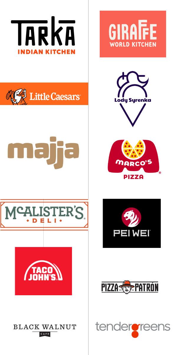 logo đẹp ngành nhà hàng