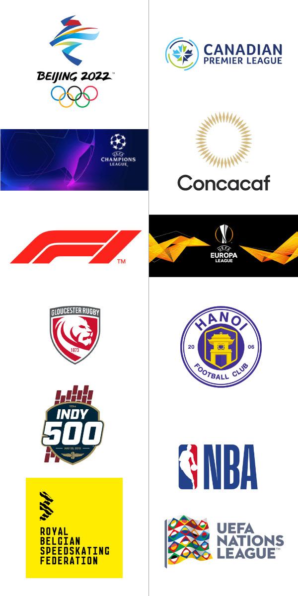 logo đẹp ngành thể thao