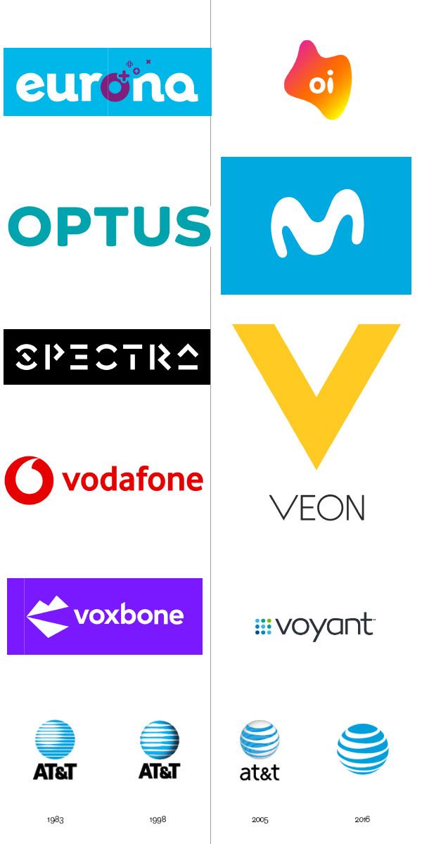 logo đẹp ngành viễn thông