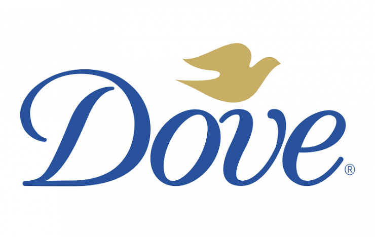 logo mỹ phẩm dove